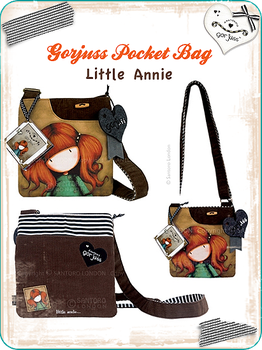 Pocket Bag little annie by gorjuss