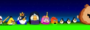 Angry Birds - Adventure Time by StickMandA