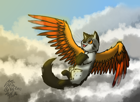 Ever in the Sky by DragonwolfRooke