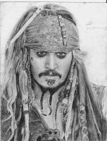 Jack Sparrow by drawinglerp
