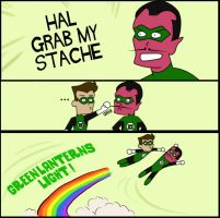HAL GRAB MY STACHE by HeroOfZeros