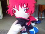 Me plushie by Sasori-loves-Dei