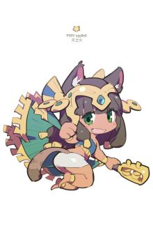 Puzzle and Dragons - Bastet Q by nnnnoooo007