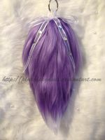 Lavender-Purple Tail With White Tip (SOLD) by PlatedPegasus