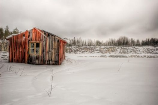 Abandoned house. by dnne1987