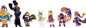 A Rag-tag Group of Detectives by GigaB00ts