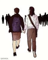 Hand in Hand by RanLae