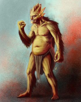 orgor the disgruntled monster by thuringerb