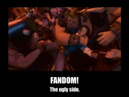 The Ugly Side of the Fandom by f4113n-4ng31-0f-r4in