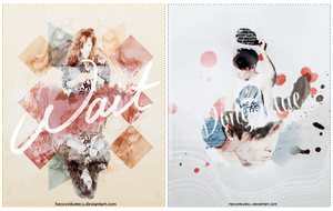 Wallpaper TaeYeon n DongHae (SHARE PSD) by Heoconkutecu