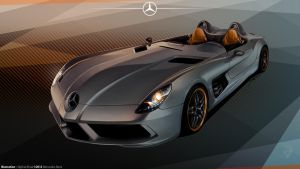 SLR Mclaren Stirling Moss Illustration by KhoaSV