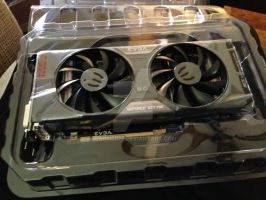 My New Video Card Nvidia EVGA 760 4GB by Barrier75
