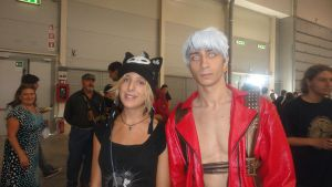 Me and Dante Romics XD by Kalix5