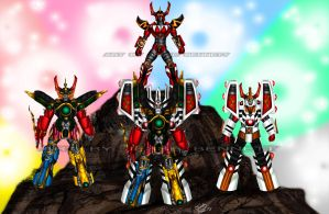 Megazords 2 by blueliberty