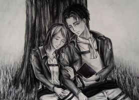 Commission: Levi and Petra by Vasya-Masha