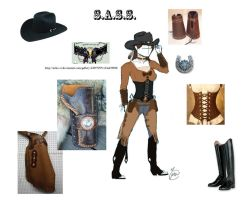 Cowboy Action Shooting Outfit by WesternSpice
