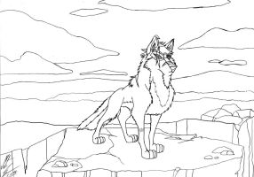 Kitara the wolfhound - Varg-Knurr by MortenEng21