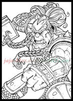 Thrall Warchief Of The Horde by jaja-Max