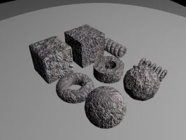 TECH 311: Rocks Render by pascalscribbles