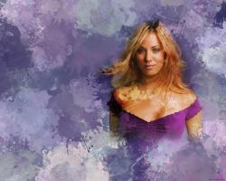 Kaley Cuoco Wallpaper by iRaccoon