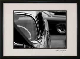 Black and White Car II by Norcalsnoe