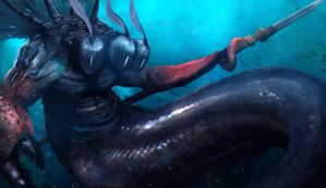 Lord of the Deep by koji1100