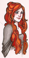 Sansa by hedgehog-in-snow