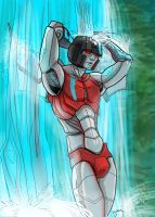 Wet Starscream by batchix