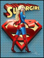 Supergirl by barneybluepants