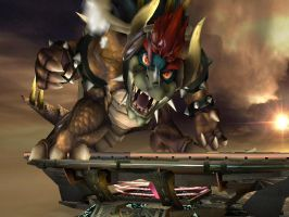 Giga Bowser is watching you by Bat-in2-hell
