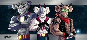 Biker Mice from Mars by GavinMichelli
