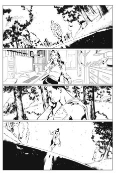 SUPERMAN #702 PAGE 21 by QueplerArts-Inker1