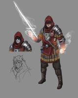House Leo Battle Mage WIP by L3monJuic3