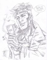 Gambit Sketch 4 Superfreak333 by The-Real-NComics