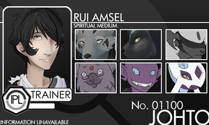 IPL Trainer Card: Rui Amsel by AyraCalaenlen