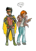 Damian and Colin by Batfee