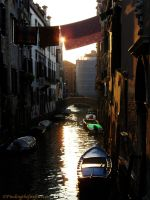 Venetian Sunset by reativar