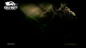 Black Ops 2 Green - PS3 Wallpaper by Msbermudez