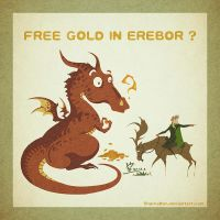 Free Gold In Erebor by SharksDen