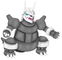 aggron :'v by javierini