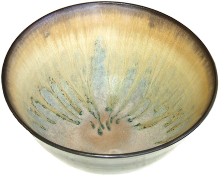 Black Dawn Bowl by Yume-Ceramics