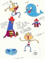 Flapjack Sketchdump by JojolovesAmelia