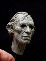 Arthur Grimsdyke - work in progress sculpture by revenant-99