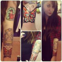 Sleeve Progress by RegularRach