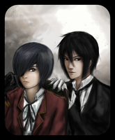 The master and his butler by Szandy98