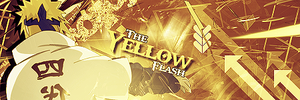 The Yellow Flash Signature by MajesticSnoozer