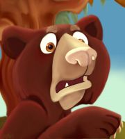 Flabbergasted Cub by amydrewthat