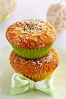 Coconut muffins by kupenska