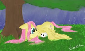 Caught in a Downpour by Peruserofpieces