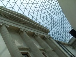 British Museum Ceiling by TheFlyingHeart